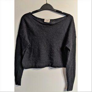 Aritzia Wilfred | lightweight cropped wool sweater